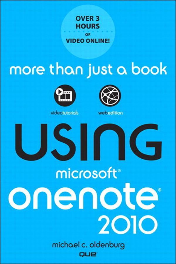 Using Microsoft? OneNote? 2010 EB9780132182409