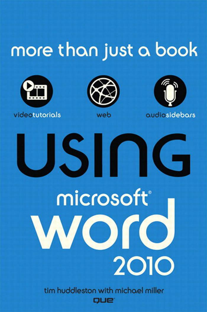 Using Microsoft? Word 2010 EB9780132182737