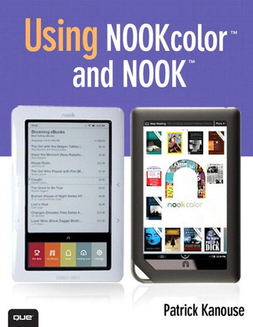 Using NOOKcolor? and NOOK? EB9780789741097