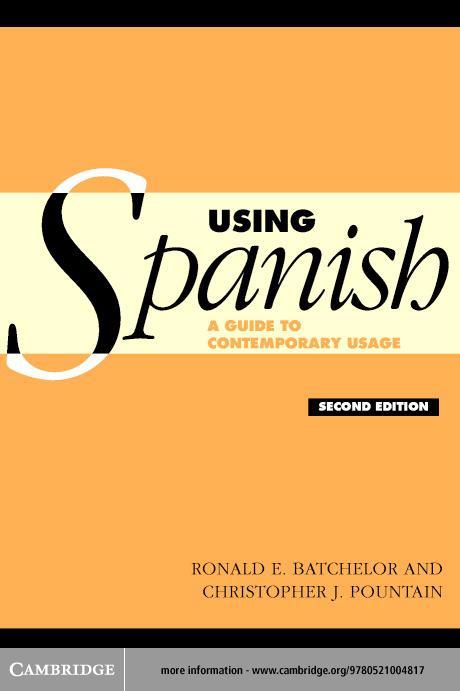 Using Spanish EB9780511126376