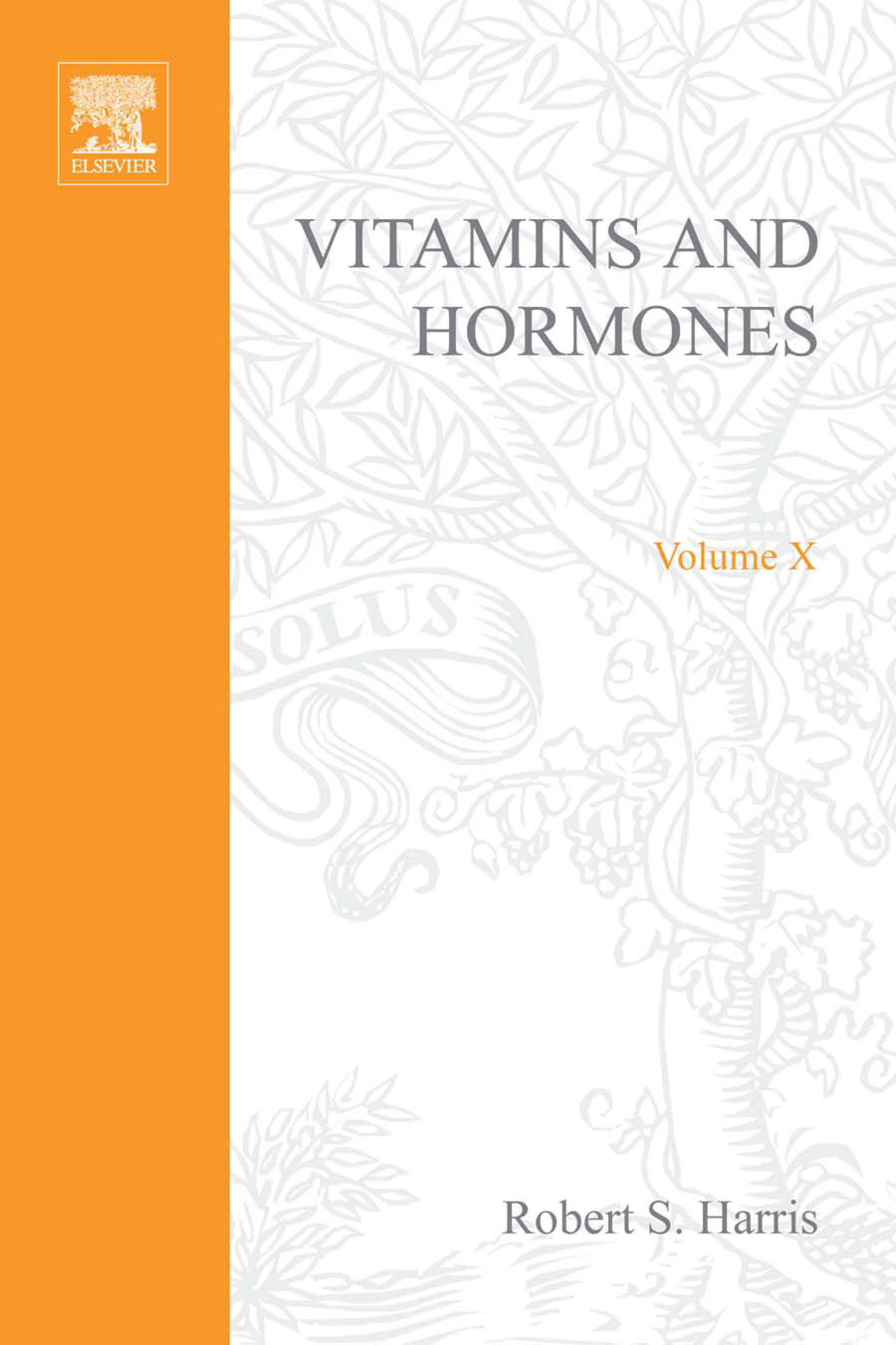 VITAMINS AND HORMONES V10 EB9780080866079