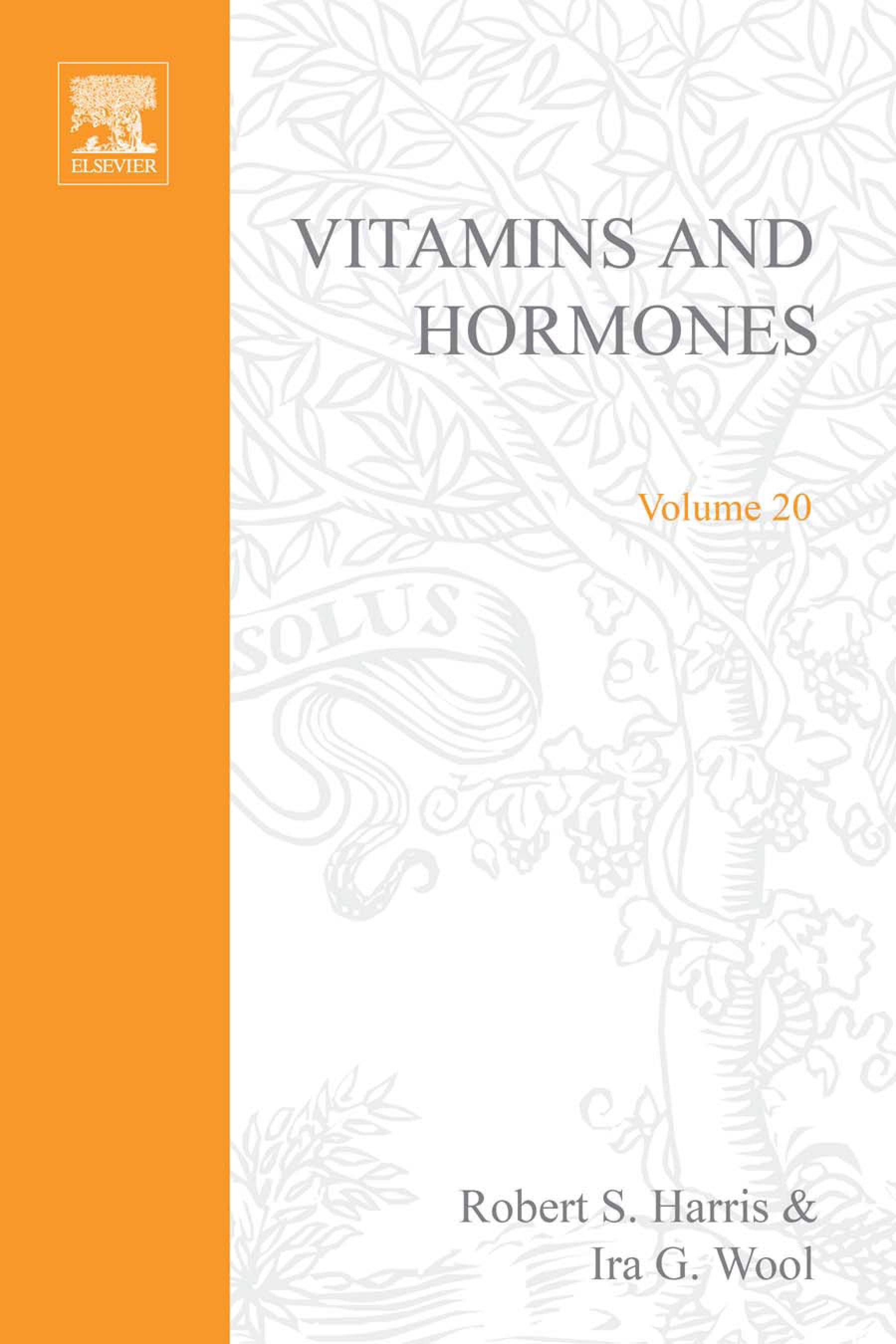 VITAMINS AND HORMONES V20 EB9780080866178