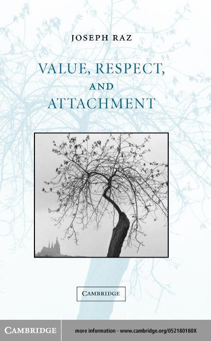 Value, Respect, and Attachment EB9780511032394