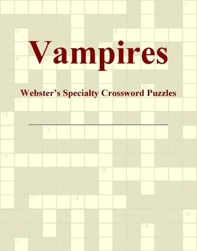 Vampires - Webster's Specialty Crossword Puzzles EB9780546433289