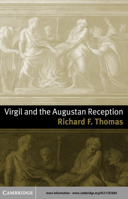 Virgil and the Augustan Reception EB9780511031090