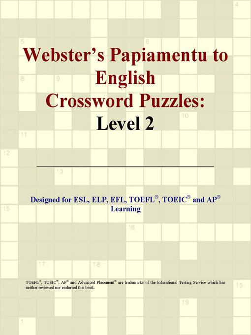Webster's Papiamentu to English Crossword Puzzles: Level 2