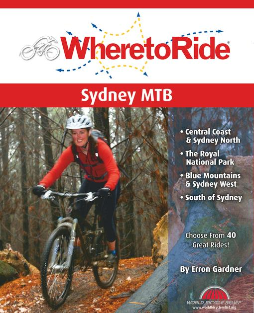 Where to Ride Sydney MTB EB9780987168610