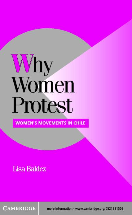 Why Women Protest EB9780511029875