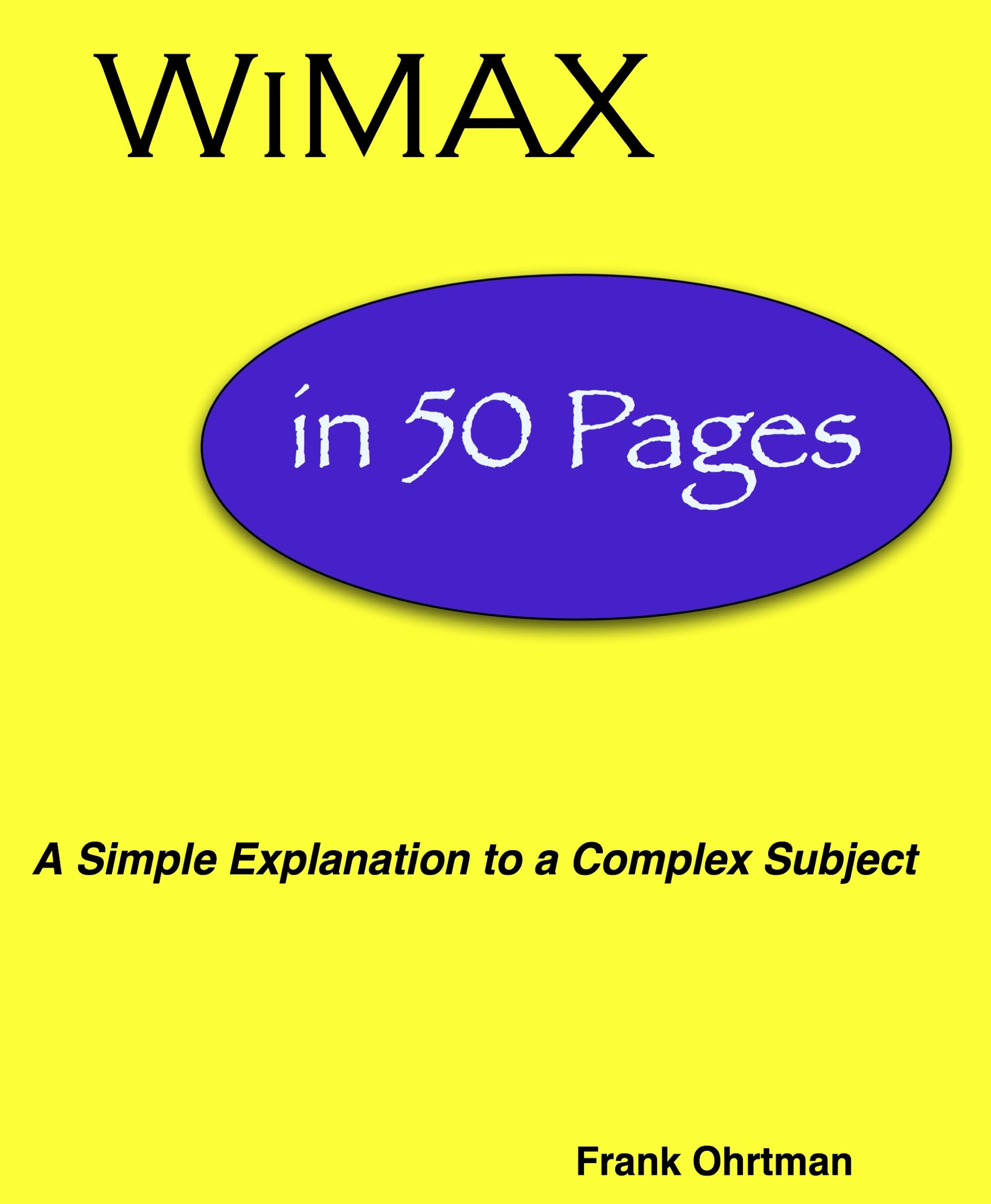 WiMAX in 50 Pages EB9780977624454
