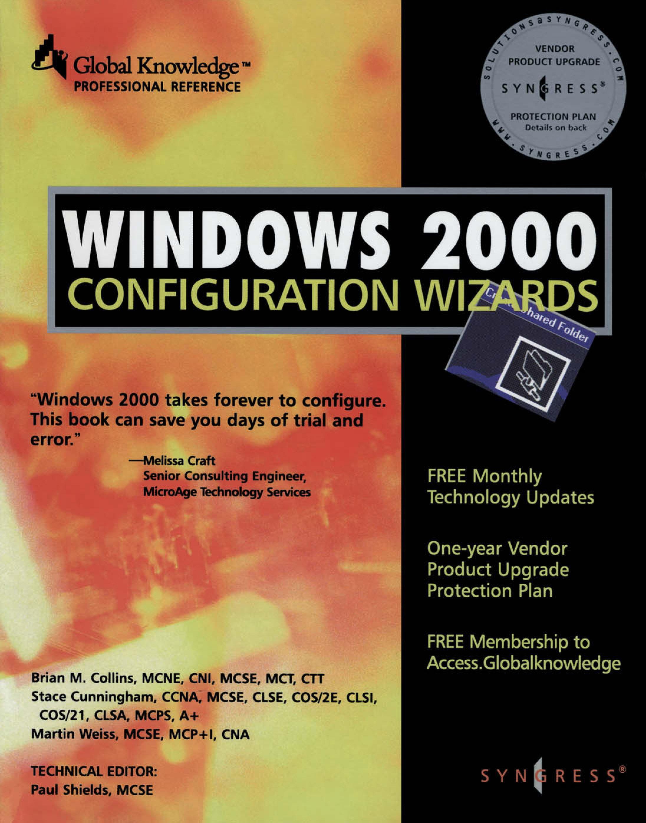 Windows 2000 Configuration Wizards EB9780080543819