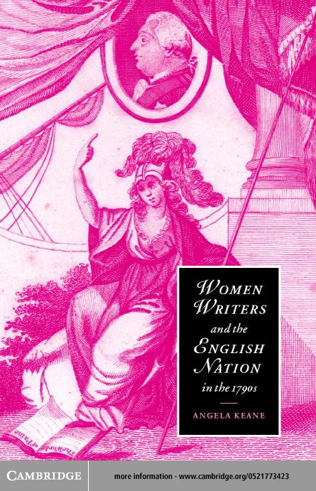 Women Writers and the English Nation in the 1790s EB9780511034671