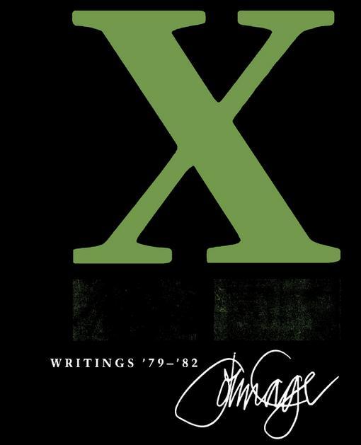 X: Writings '79-'82 EB9780819572714
