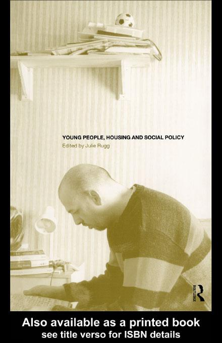 Young People, Housing and Social Policy EB9780203207246