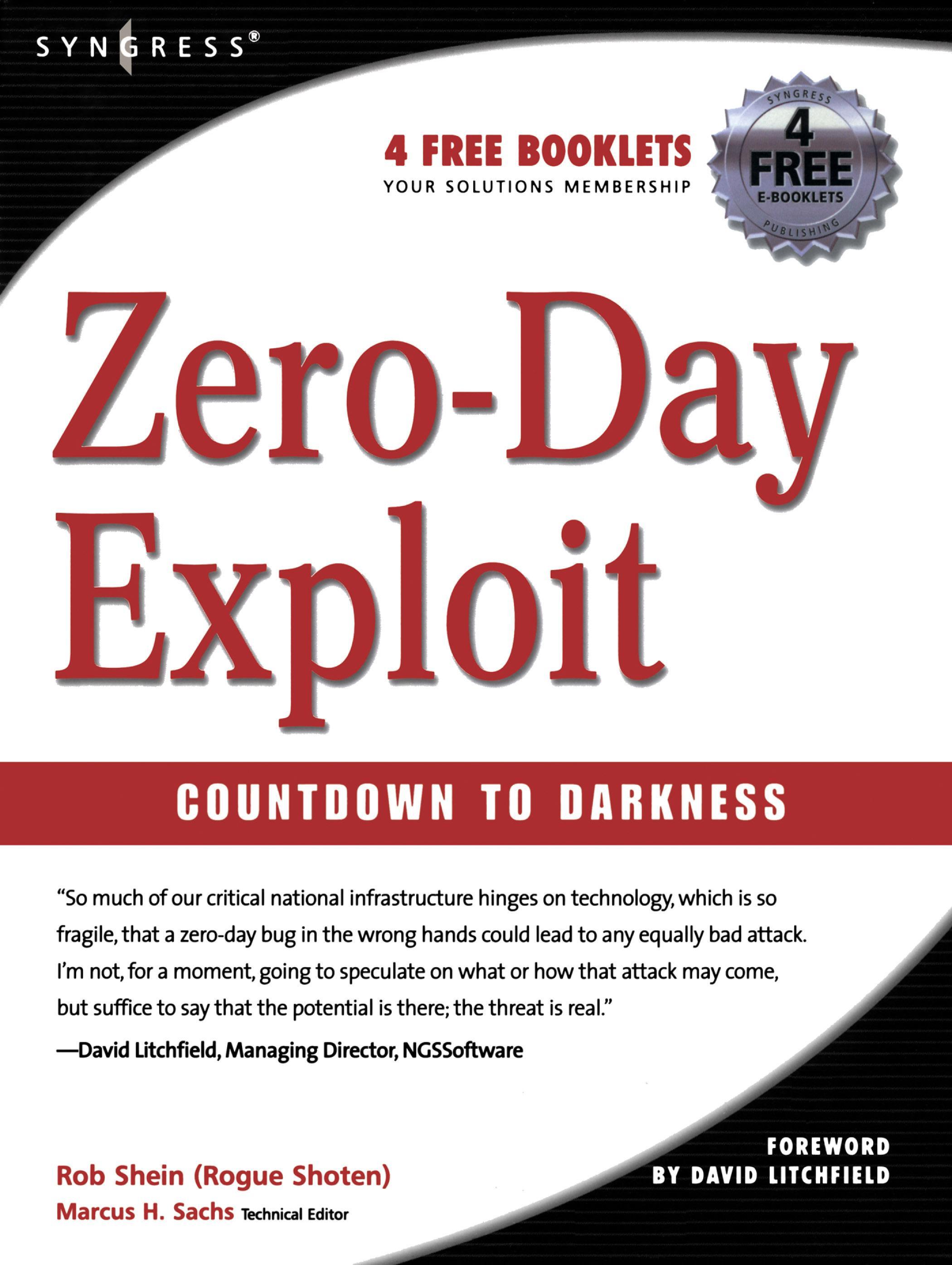 Zero-Day Exploit:: Countdown to Darkness EB9780080543925