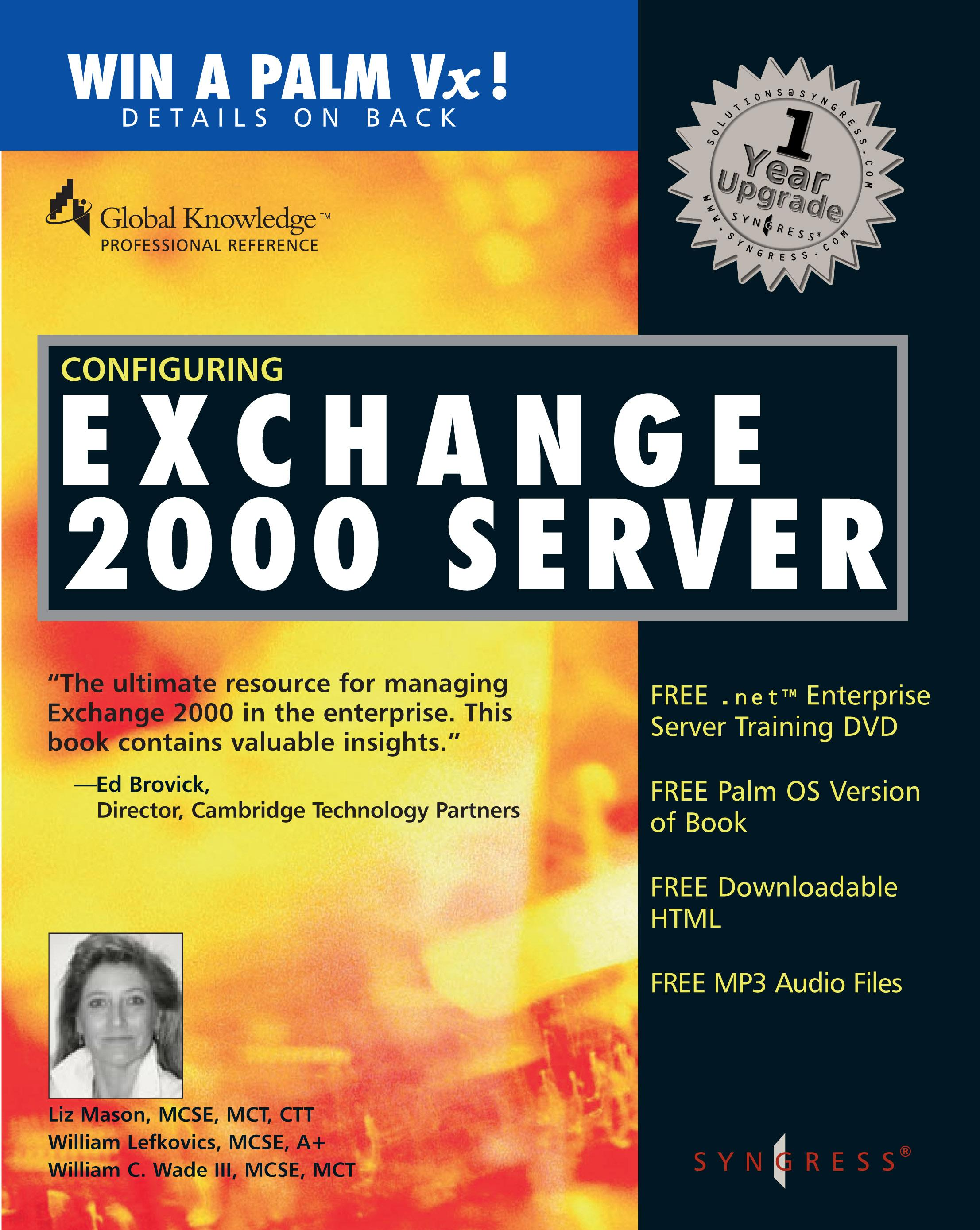 configuring exchange server 2000 EB9780080476759
