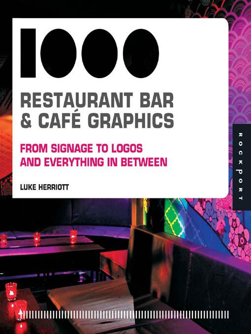 1,000 Restaurant Bar and Cafe Graphics EB9781616736392