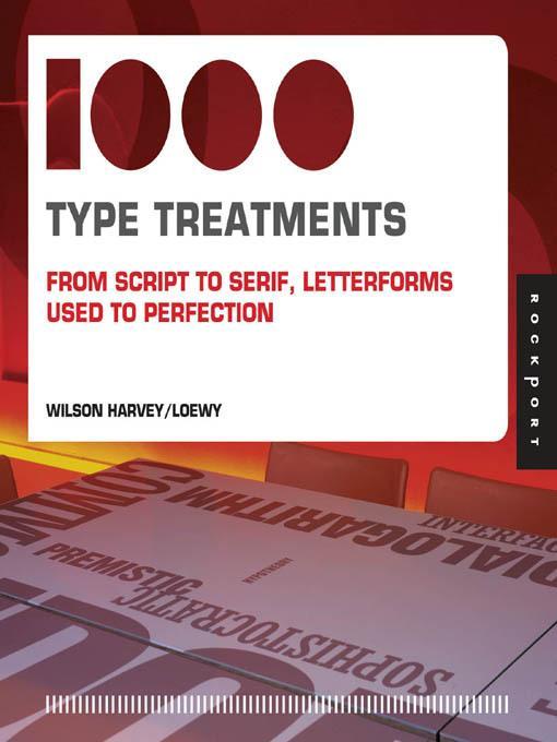 1,000 Type Treatments EB9781616736569