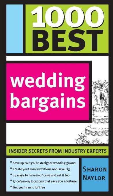 1000 Best Wedding Bargains EB9781402220210