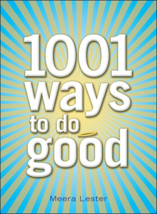 1001 Ways to Do Good EB9781440501074