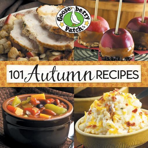 101 Autumn Recipes EB9781936283651