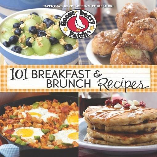 101 Breakfast & Brunch Recipes EB9781620930175