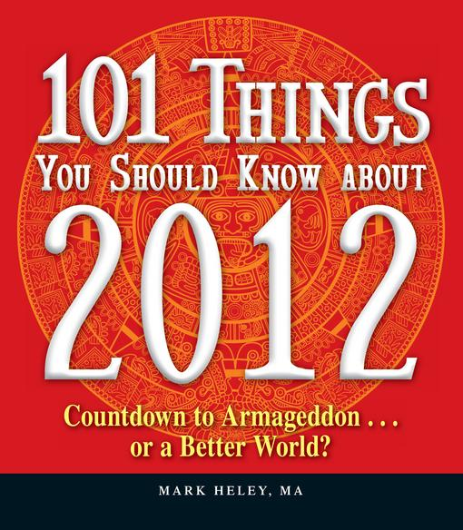 101 Things You Should Know about 2012 EB9781440511325