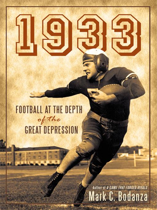 1933: Football at the Depth of the Great Depression EB9781450245258