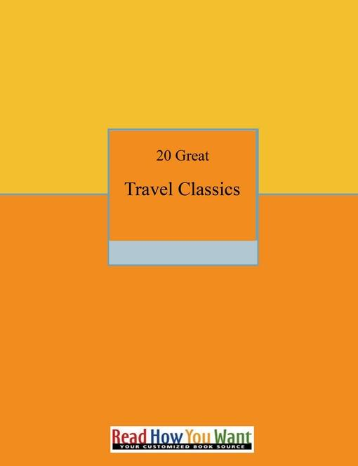 20 Great Travel Classics EB9781458795588