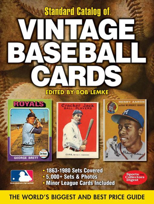 2012 Standard Catalog of Baseball Cards EB9781440223808