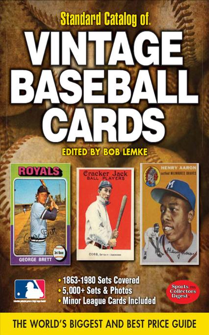 2012 Standard Catalog of Baseball Cards EB9781440223822