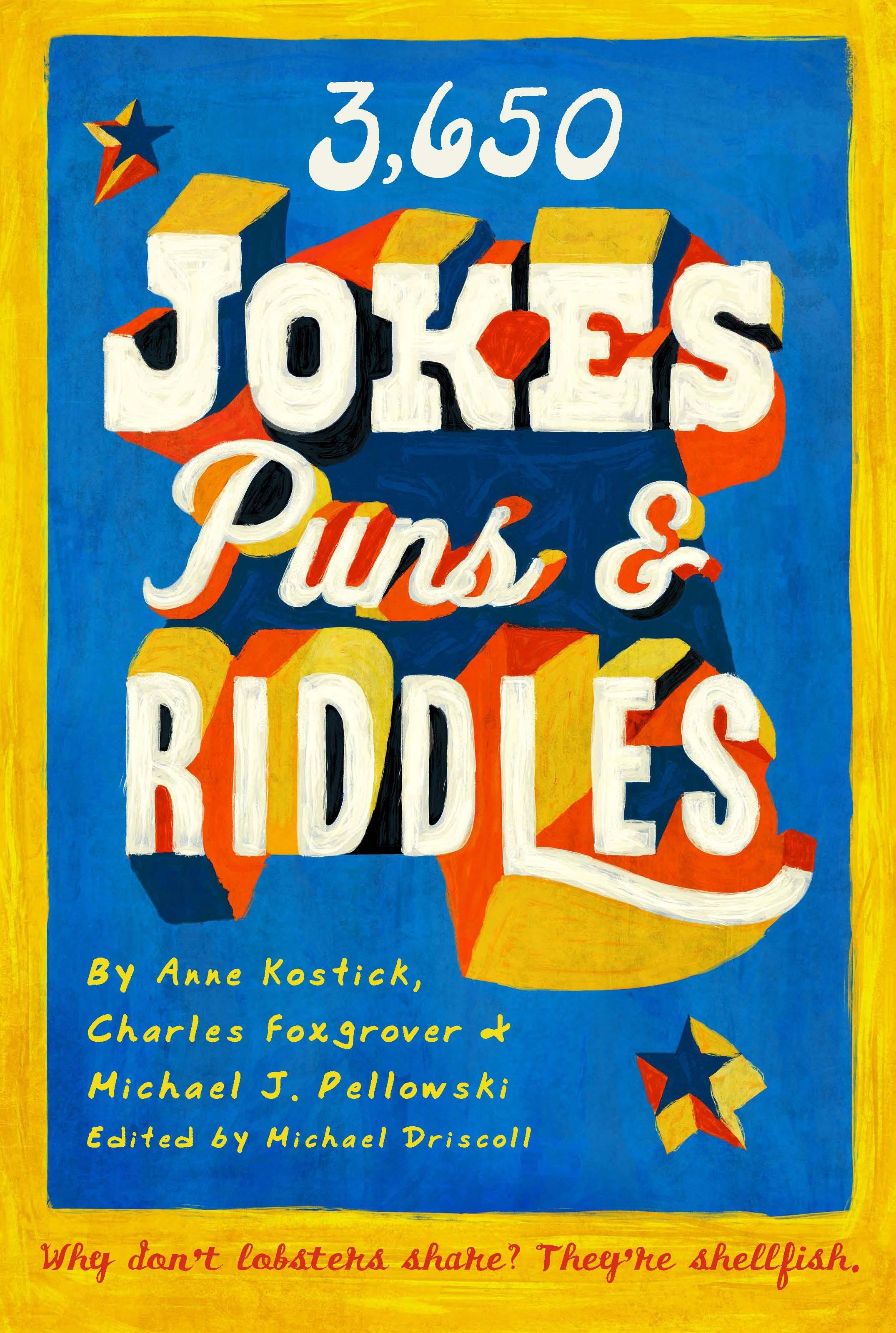 3650 Jokes, Puns, & Riddles EB9781603762076