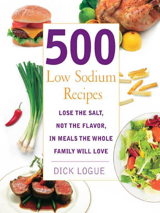 500 Low Sodium Recipes EB9781610580854