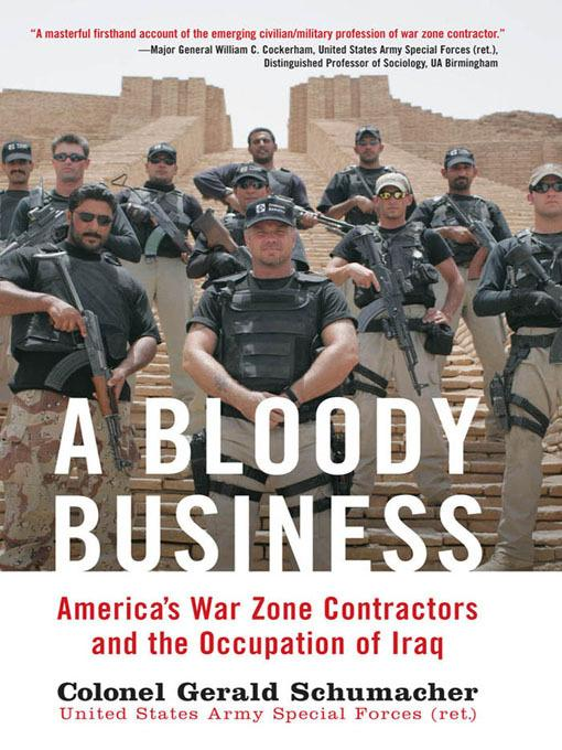 A Bloody Business EB9781610600682