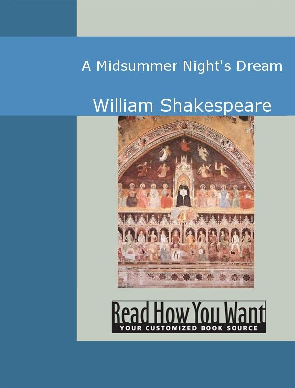 A Midsummer Night's Dream EB9781442947566