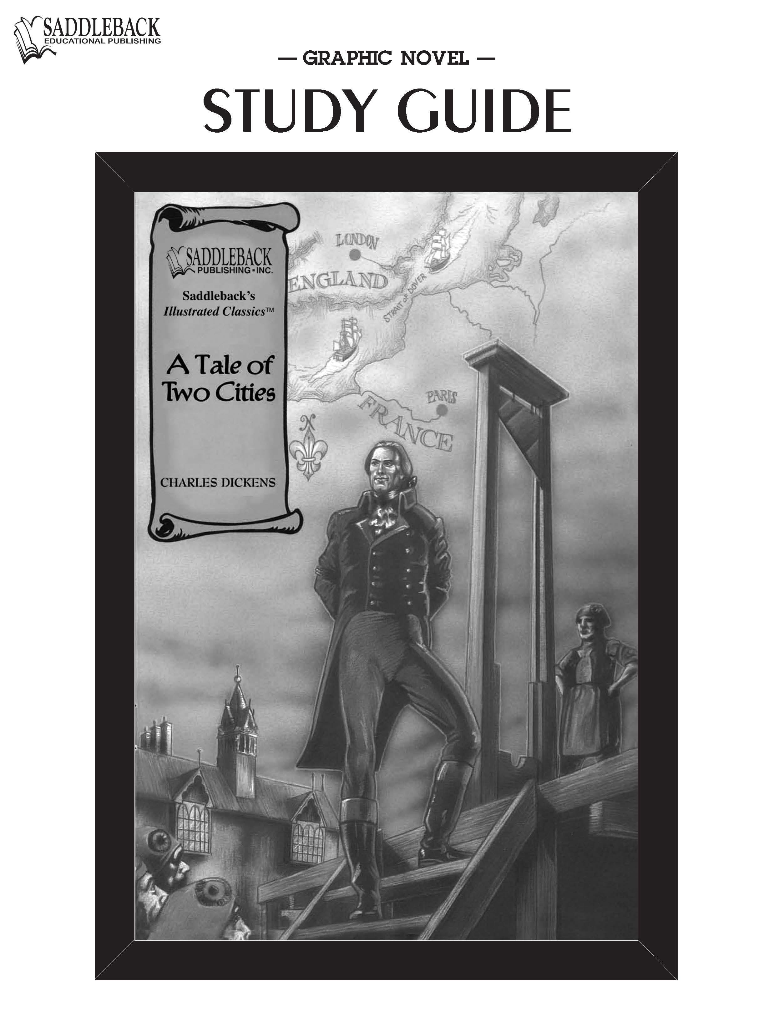 A Tale of Two Cities Study Guide EB9781602916548