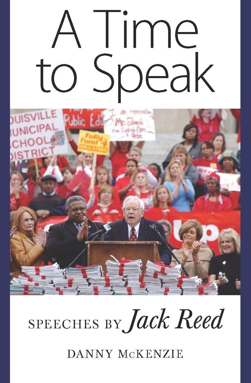 A Time to Speak: Speeches by Jack Reed EB9781604730630