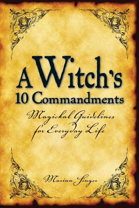 A Witch's 10 Commandments EB9781440517860