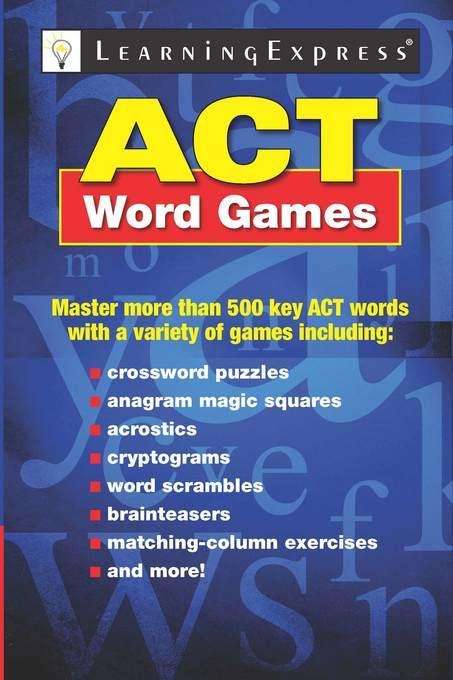 ACT Word Games EB9781576859131