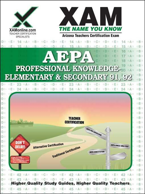 AEPA PROFESSIONAL KNOWLEDGE - ELEM & SECONDARY 91, 92 EB9781607877172