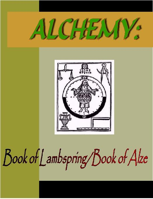ALCHEMY:  Book of Lambspring & Book of Alze EB9781932681420