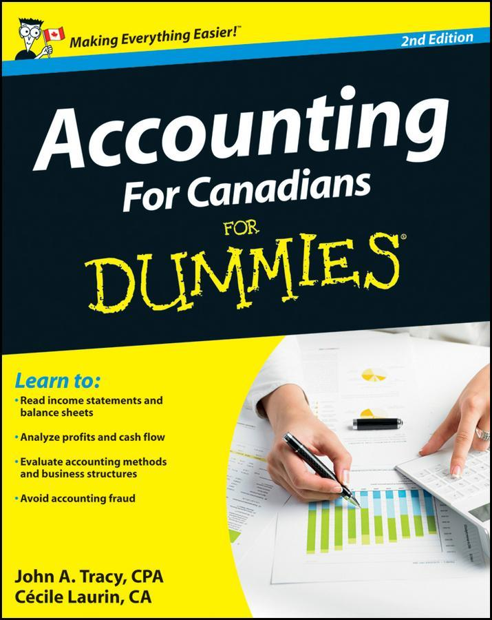Accounting For Canadians For Dummies EB9781118223819