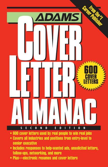 Adams Cover Letter Almanac EB9781440518096