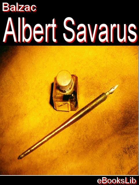 Albert Savarus EB9781554458684