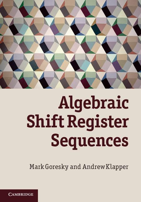 Algebraic Shift Register Sequences EB9781139211666