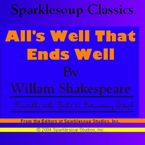 All's Well That Ends Well (Sparklesoup Classics) EB9781597487191