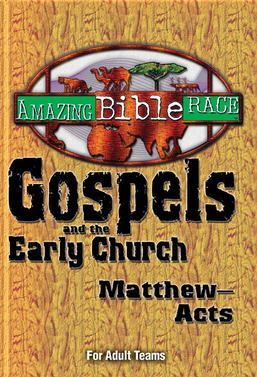 Amazing Bible Race - For Adult Teams (Matthew-Acts) EB9781426733321