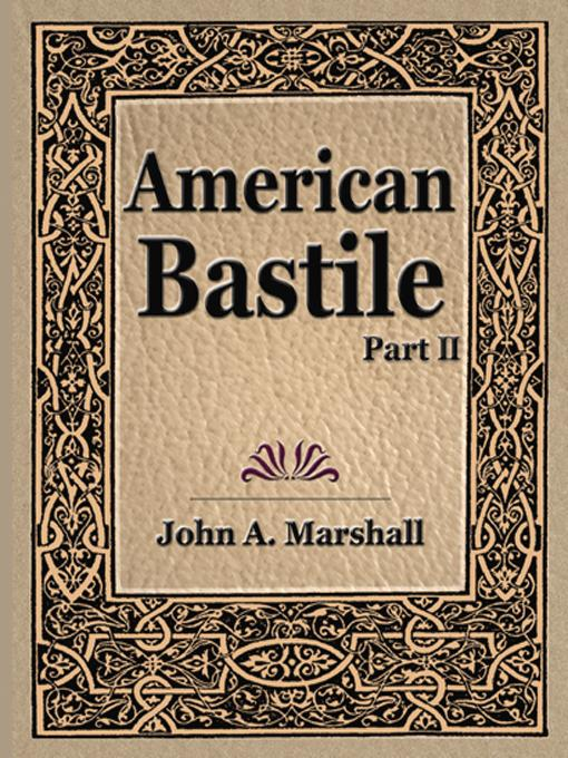 American Bastile (part II) EB9781594627187