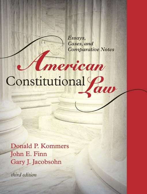 American Constitutional Law EB9781442205901