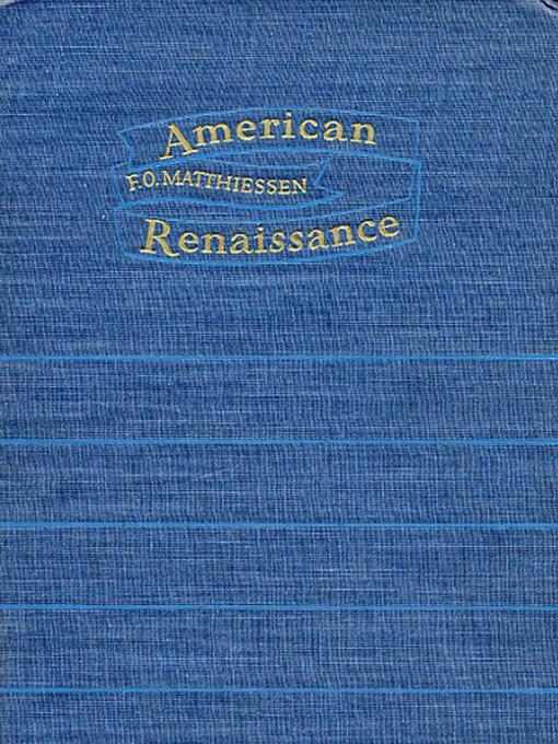 American Renaissance: Art and Expression in the Age of Emerson and Whitman EB9781597408172