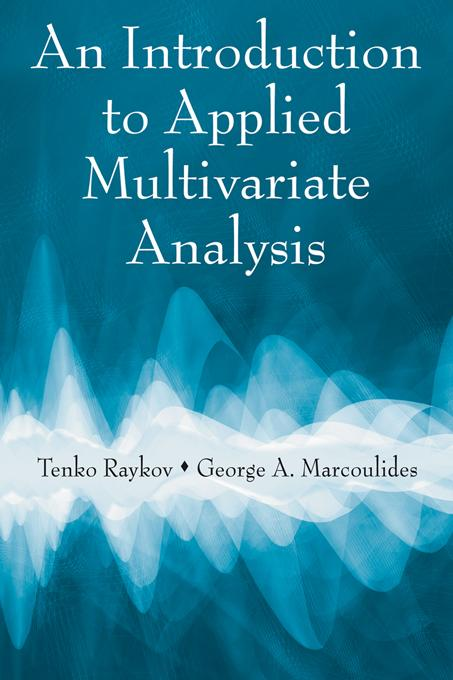 An Introduction to Applied Multivariate Analysis EB9781136675997
